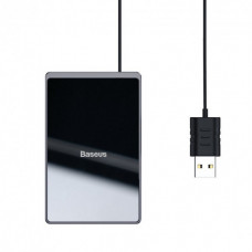 Charger for phone wireless Baseus Card Ultra-thin WX01B-01 black