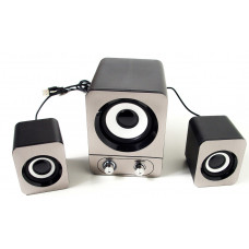 Computer speakers USB 2.1 FT-25, gray