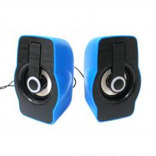 USB computer speakers FT185, Blue