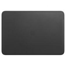 "Laptop sleeve Apple 16 ""MacBook Pro, Leather Sleeve, Black (MWVA2ZM / A)"