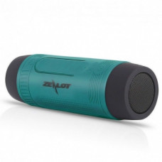 Bicycle bluetooth speaker Zealot S1 with mounting on the handlebars, turquoise
